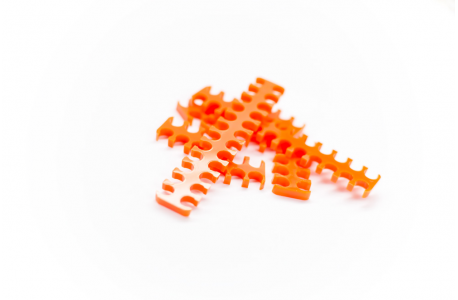 Cable combs ouvert HCM - Orange
